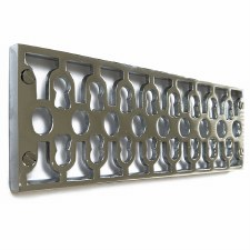 Cast Air Vent Decorative Polished Chrome