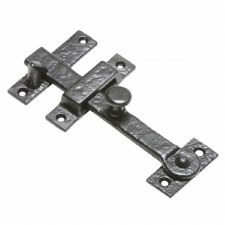 Kirkpatrick 869 Latch, Catch & Staple Antique Black