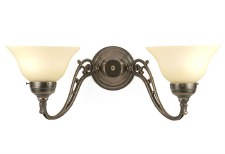 Art Nouveau Double Wall Light