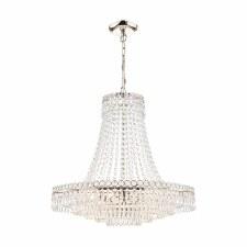 Laura Ashley Enid 5 Light Cut Glass Chandelier Grand