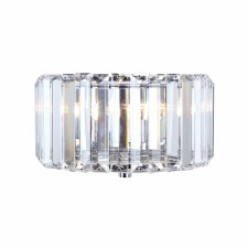 Laura Ashley Fernhurst Wall Light Crystal