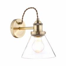 Laura Ashley Isaac Wall Light Antique Brass