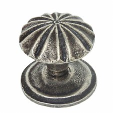 Finesse Abbey Cupboard Knob FD265 Solid Pewter