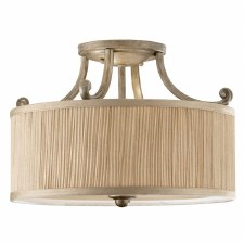 Feiss Abbey Semi Flush Ceiling Light