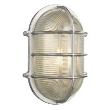 David Hunt ADM2138 Admiral Bulkhead Light Lrg Nickel IP64