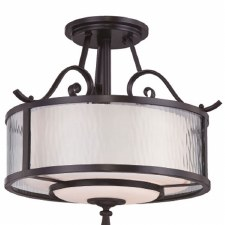 Quoizel Adonis Semi Flush Ceiling Light