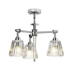Elstead Agatha 3L Bathroom Pendant Polished Chrome