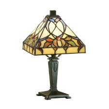 Interiors 1900 Alcea Tiffany Mini Table Light 63898