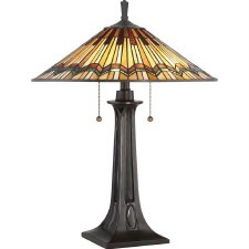 Quoizel Tiffany Alcott Table Light Bronze