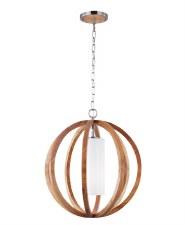 Feiss Allier Small Light Wood Pendant