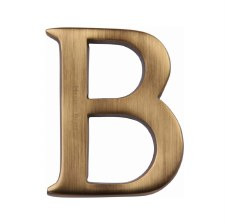Heritage C1565 Letter B Antique Brass