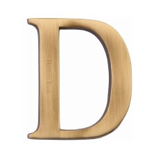Heritage C1565 Letter D Antique Brass
