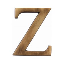 Heritage C1565 Letter Z Antique Brass