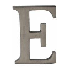 Heritage C1565 Letter E Matt Bronze