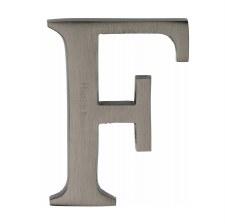 Heritage C1565 Letter F Matt Bronze