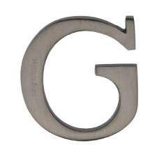 Heritage C1565 Letter G Matt Bronze