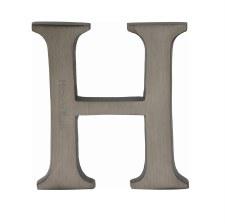 Heritage C1565 Letter H Matt Bronze