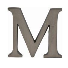 Heritage C1565 Letter M Matt Bronze
