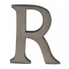 Heritage C1565 Letter R Matt Bronze