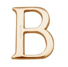 Heritage C1565 Letter B Polished Brass