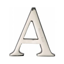 Heritage C1565 Letter A Polished Nickel