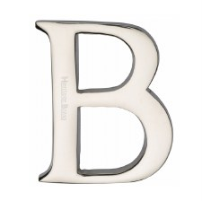 Heritage C1565 Letter B Polished Nickel
