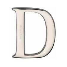 Heritage C1565 Letter D Polished Nickel