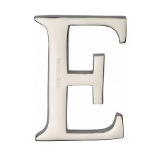 Heritage C1565 Letter E Polished Nickel