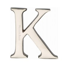 Heritage C1565 Letter K Polished Nickel