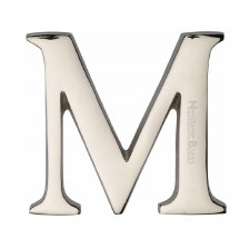 Heritage C1565 Letter M Polished Nickel