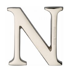 Heritage C1565 Letter N Polished Nickel