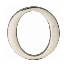 Heritage C1565 Letter O Polished Nickel