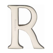 Heritage C1565 Letter R Polished Nickel