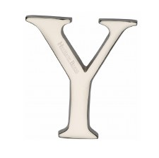Heritage C1565 Letter Y Polished Nickel
