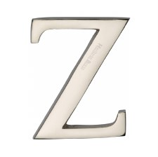 Heritage C1565 Letter Z Polished Nickel