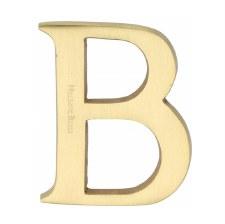 Heritage C1565 Letter B Satin Brass