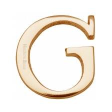 Heritage C1565 Letter G Satin Brass