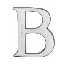 Heritage C1565 Letter B Satin Chrome