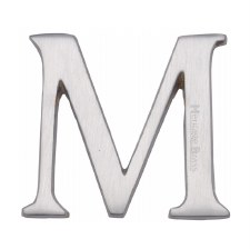 Heritage C1565 Letter M Satin Chrome