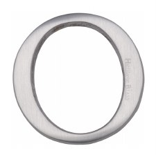 Heritage C1565 Letter O Satin Chrome