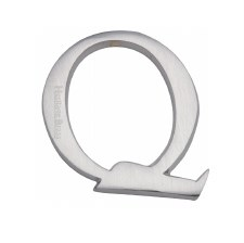 Heritage C1565 Letter Q Satin Chrome