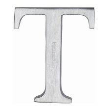 Heritage C1565 Letter T Satin Chrome