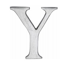 Heritage C1565 Letter Y Satin Chrome