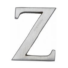 Heritage C1565 Letter Z Satin Chrome