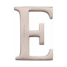 Heritage C1565 Letter E Satin Nickel