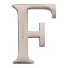 Heritage C1565 Letter F Satin Nickel