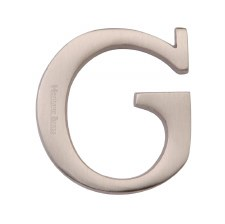 Heritage C1565 Letter G Satin Nickel