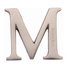 Heritage C1565 Letter M Satin Nickel
