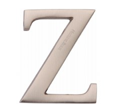 Heritage C1565 Letter Z Satin Nickel