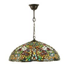 Interiors 1900 Anderson Tiffany Ceiling Light Pendant